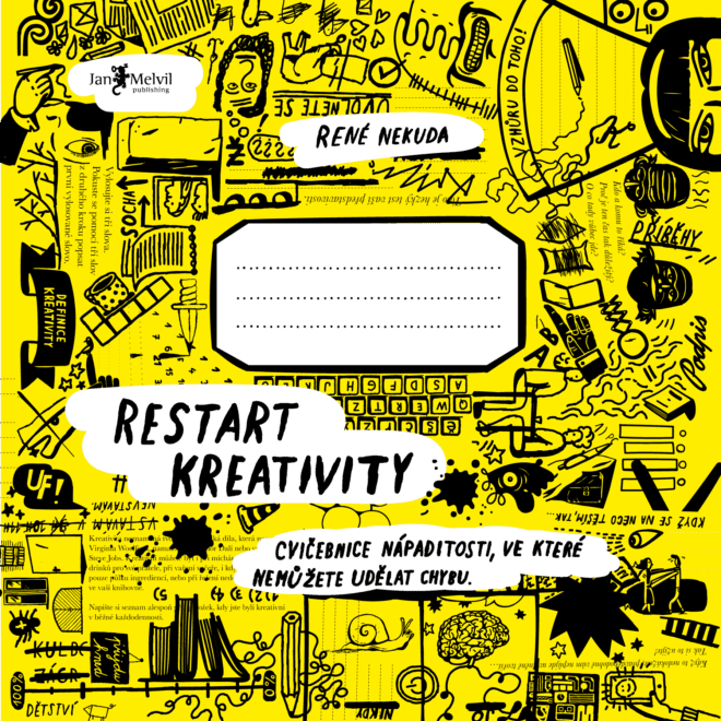 Kniha Restart kreativity – obálka